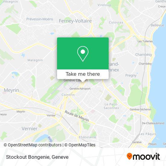 Stockout Bongenie map