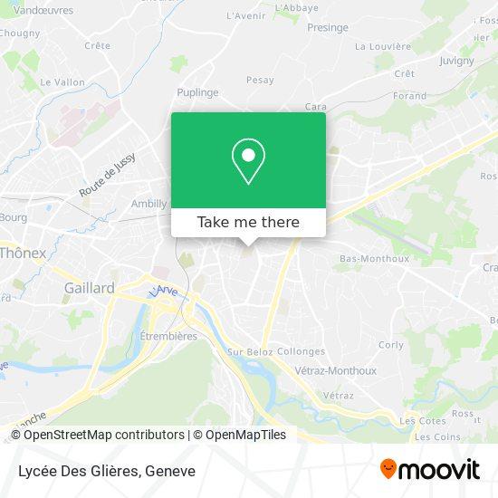 Lycée Des Glières map