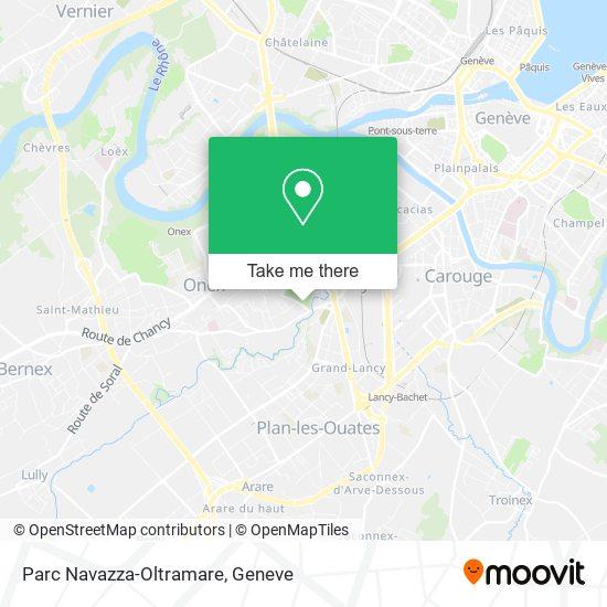 Parc Navazza-Oltramare map