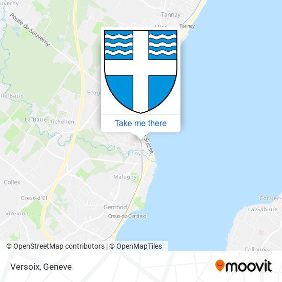 Versoix map