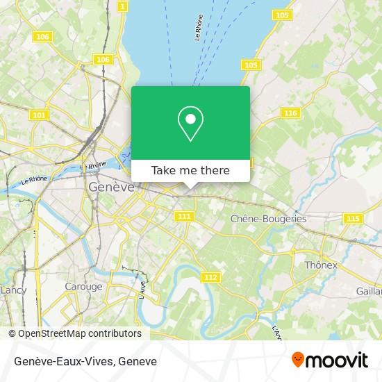 Genève-Eaux-Vives map