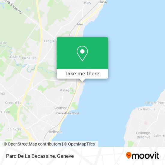 Parc De La Becassine map