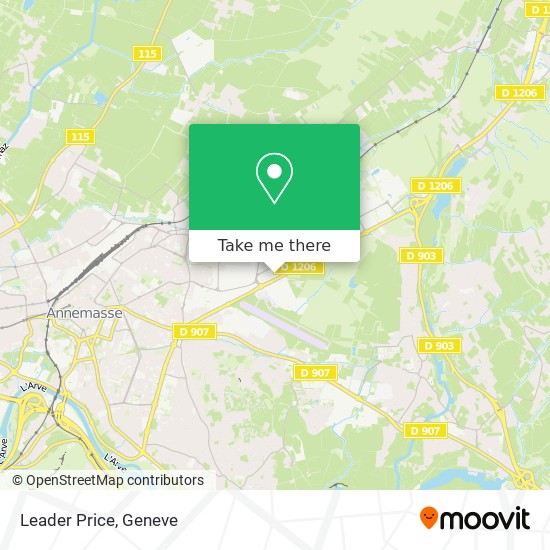 Leader Price map