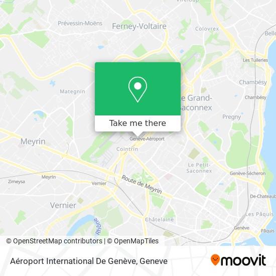 Aéroport International De Genève map