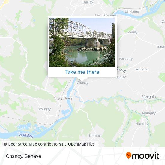 Chancy map