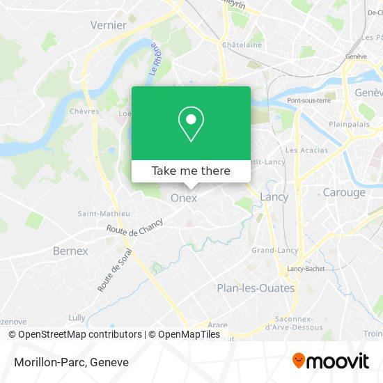 Morillon-Parc map