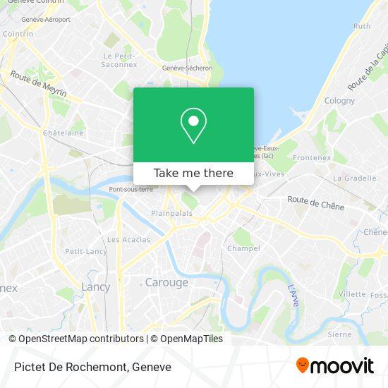 Pictet De Rochemont map