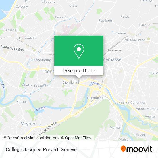 Collège Jacques Prévert map