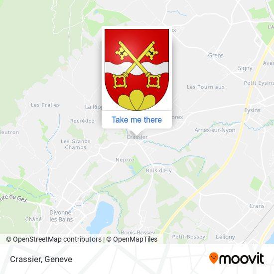 Crassier map