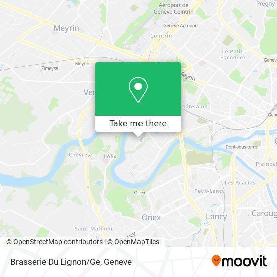 Brasserie Du Lignon/Ge map
