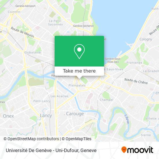 Uni-Dufour map