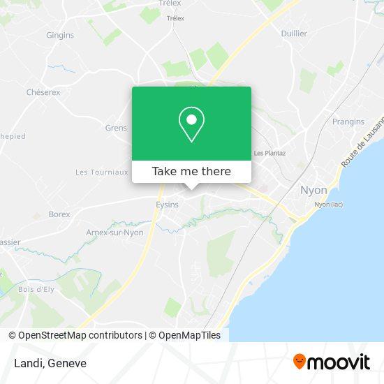Landi map