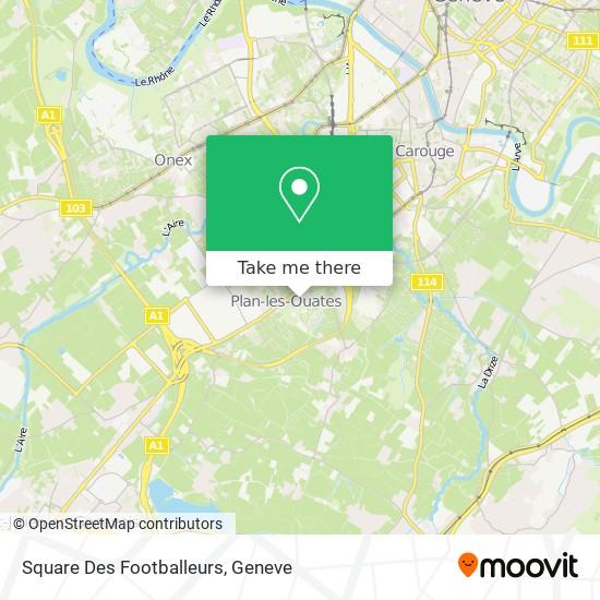 Square Des Footballeurs map