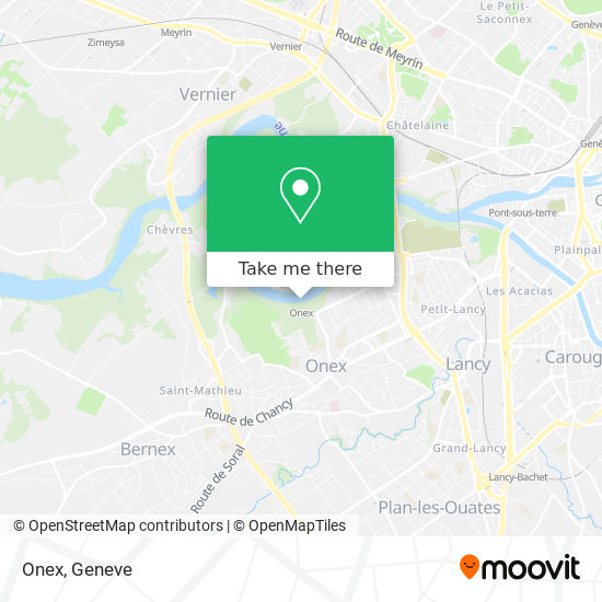 Onex map