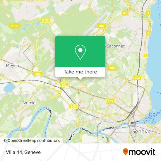 Villa 44 map