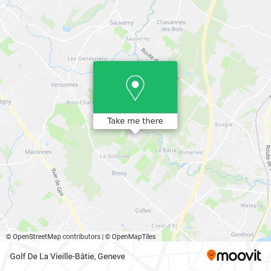 Golf De La Vieille-Bâtie map