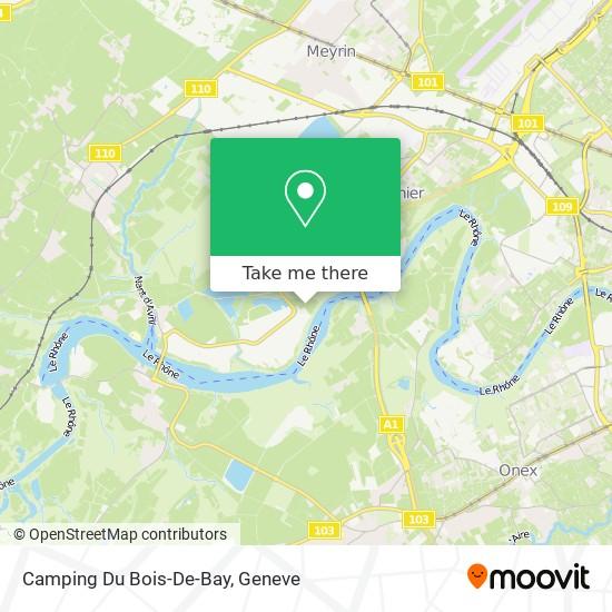 Camping Du Bois-De-Bay map
