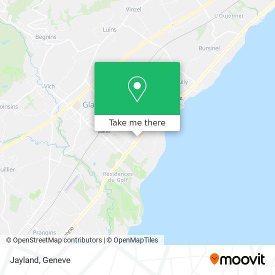 Jayland map