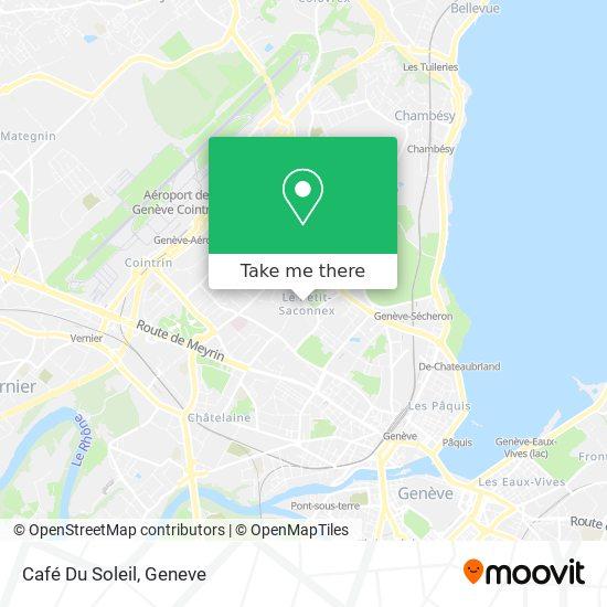 Café Du Soleil map