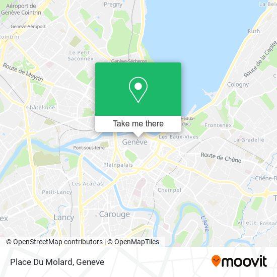 Place Du Molard map
