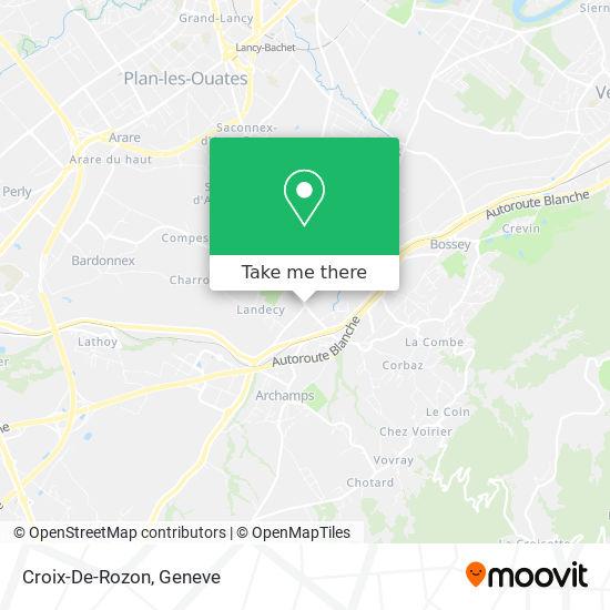 Croix-De-Rozon map