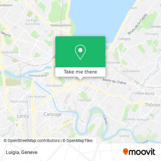 Luigia map