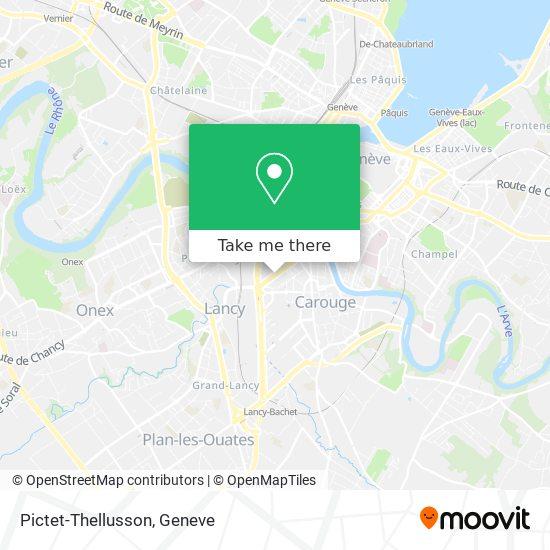 Mapa Pictet-Thellusson