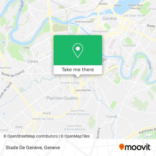 Stade De Genève map