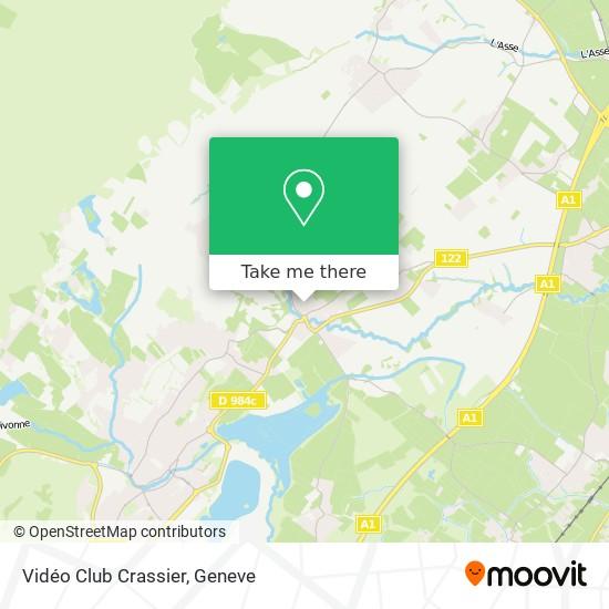 Vidéo Club Crassier map