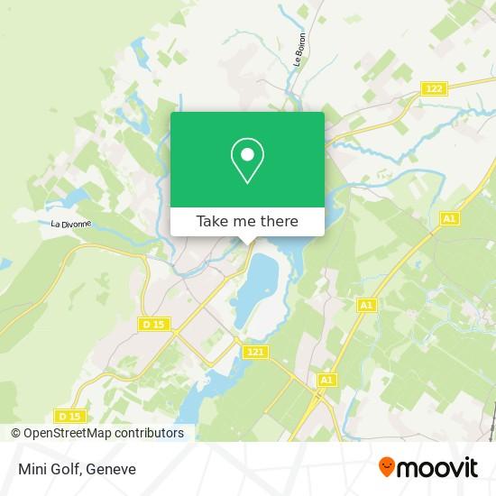 Mini Golf Karte