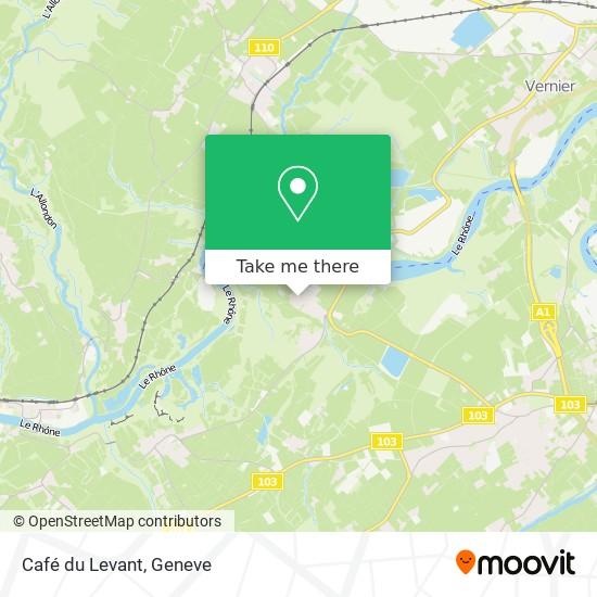 Mappa Café du Levant
