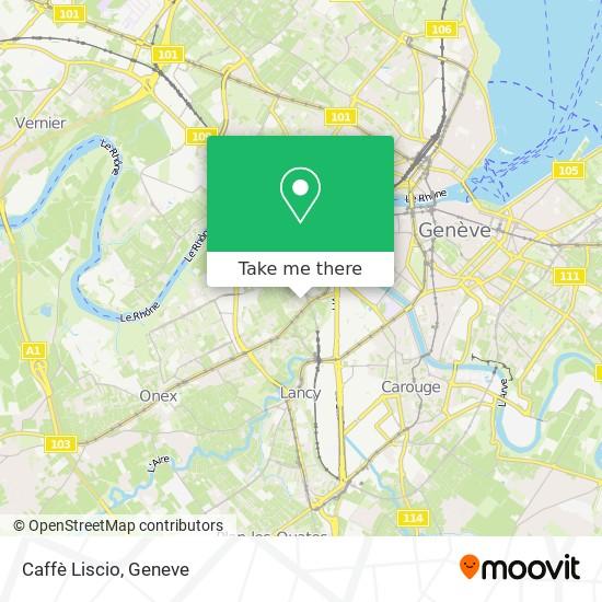 Caffè Liscio map