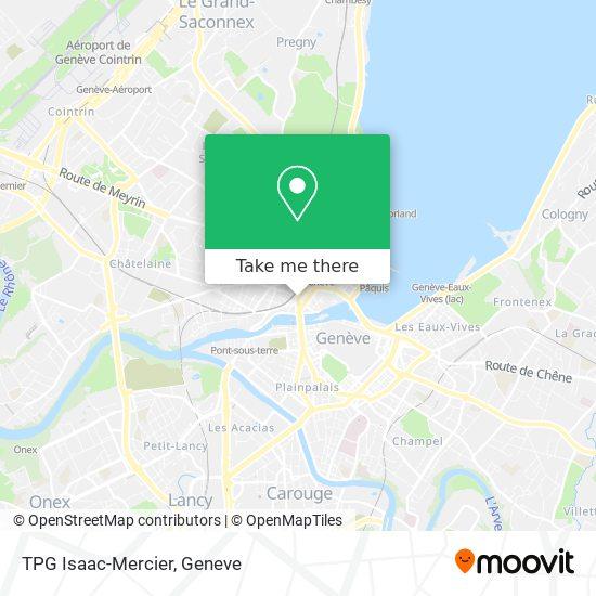 TPG Isaac-Mercier map