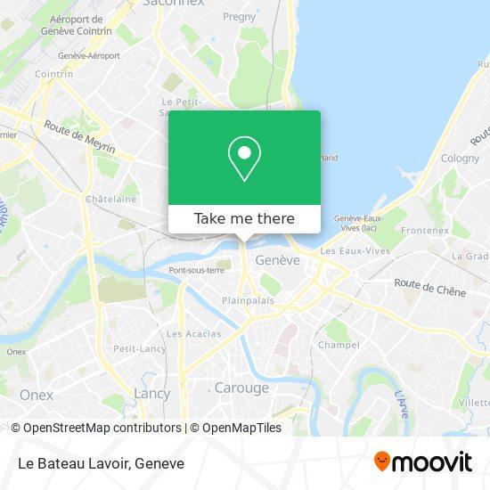 Le Bateau Lavoir map