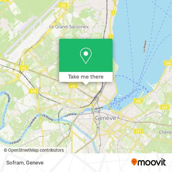 Sofram map