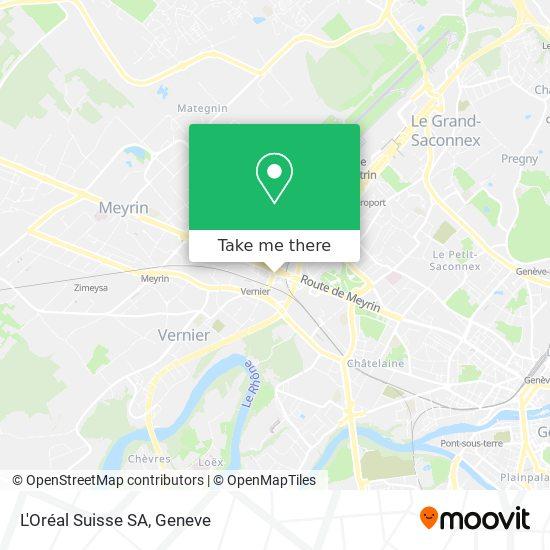 L'Oréal Suisse SA map