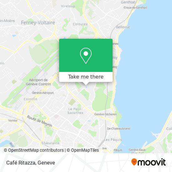 Café Ritazza map