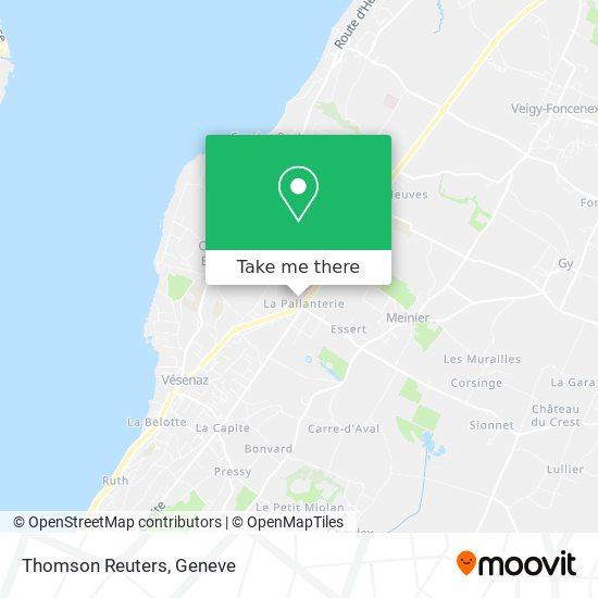 Thomson Reuters map