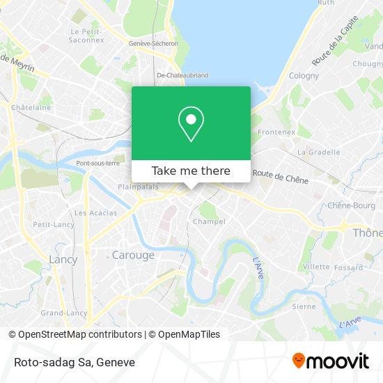 Roto-sadag Sa map