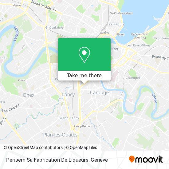 Perisem Sa Fabrication De Liqueurs map