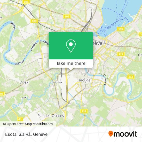 Esotal S.à R.l. map