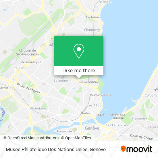 Musée Philatélique Des Nations Unies map