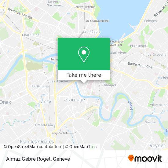 Almaz Gebre Roget map