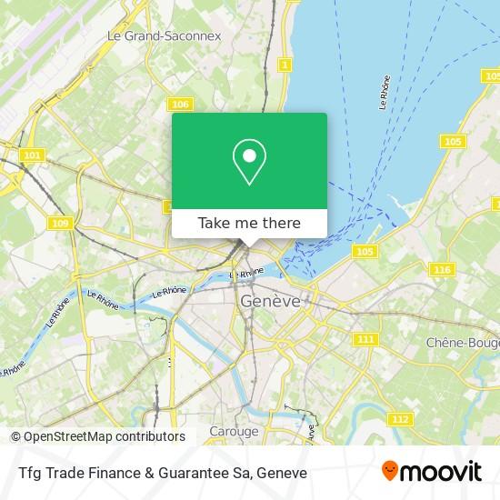 Tfg Trade Finance & Guarantee Sa map