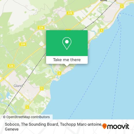 Soboco, The Sounding Board, Tschopp Marc-antoine map