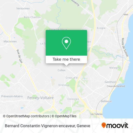 Bernard Constantin Vigneron-encaveur map