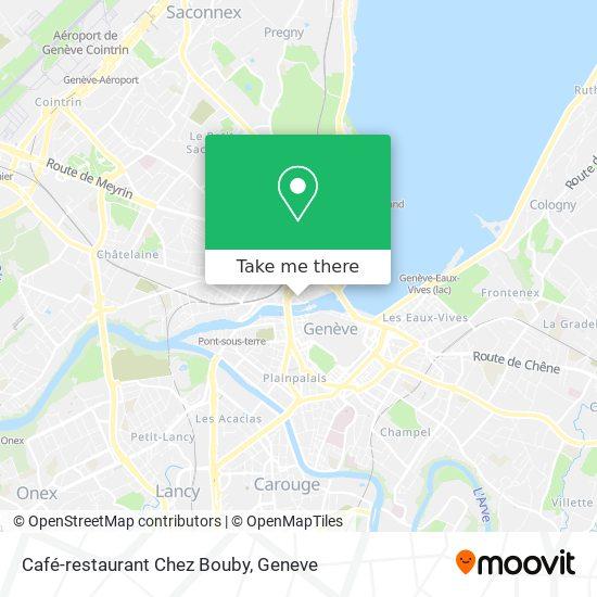 Café-restaurant Chez Bouby map