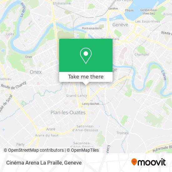 Cinéma Arena La Praille map