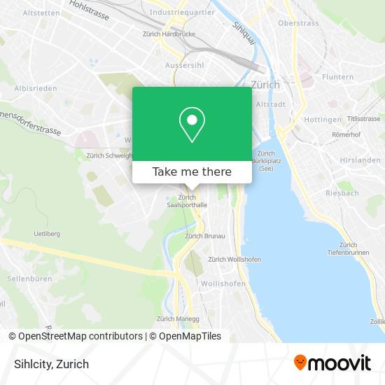 Sihlcity map