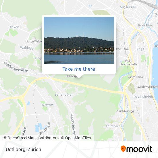 Uetliberg map
